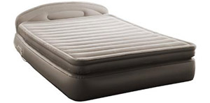 Aerobed Comfort Anywhere 18 Inch Air Mattress With Headboard